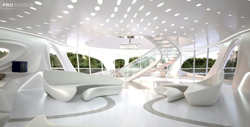 Fütürist İç mimari