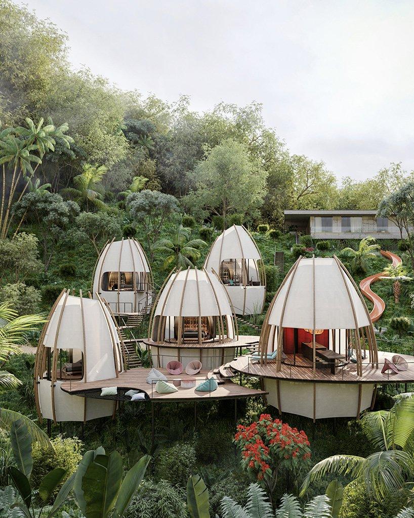 Kosta Rika'da Villa Projesi